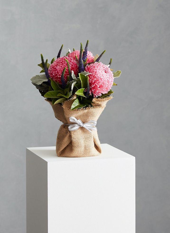 Hessian Vase