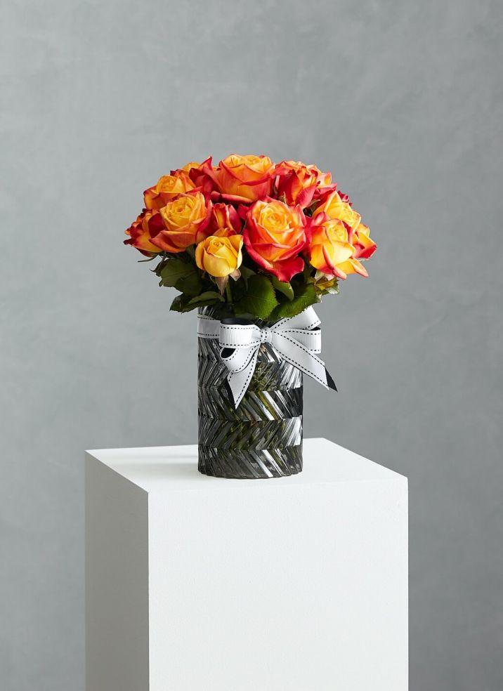 Short Rose Vase