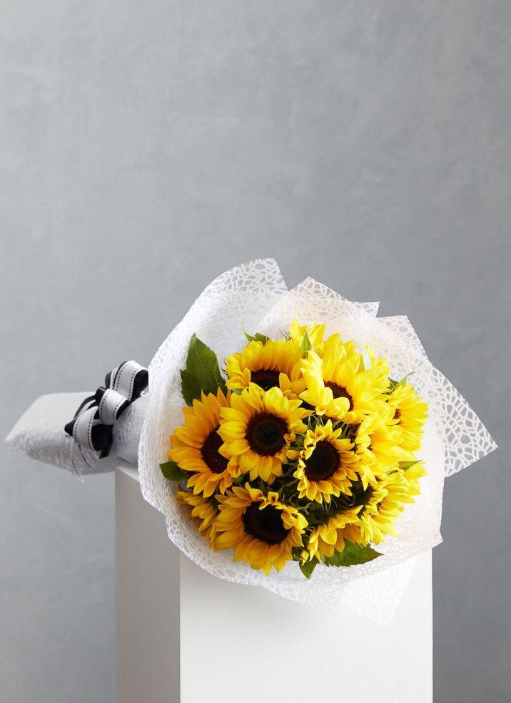 Sunflowers on Mass